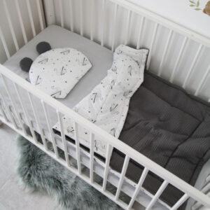 שמיכה וכרית דובון לתינוק – אוריגמי