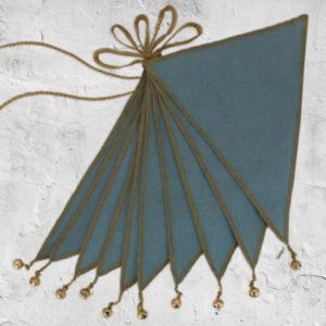 דגלונים – כחול עמוק